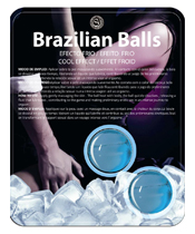 Secret Play Brazilian Balls Effet froid