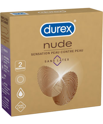 Durex Nude Sans Latex