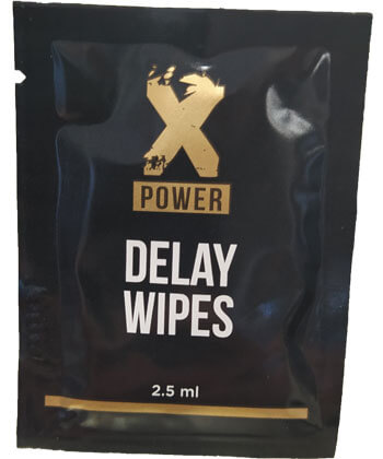 XPower Delay Wipes