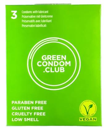 Green Condom x3