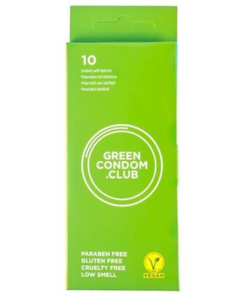 Green Condom x10