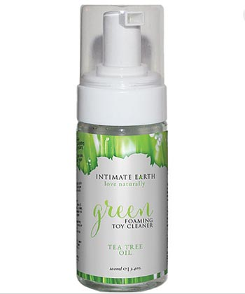 Intimate Earth Green Foaming Toy Cleaner