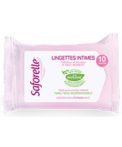 Saforelle Intimate Wipes ultra Gentle