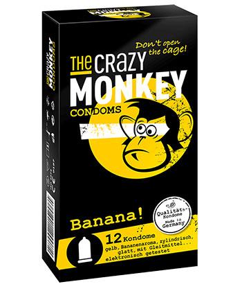 The Crazy Monkey Banane