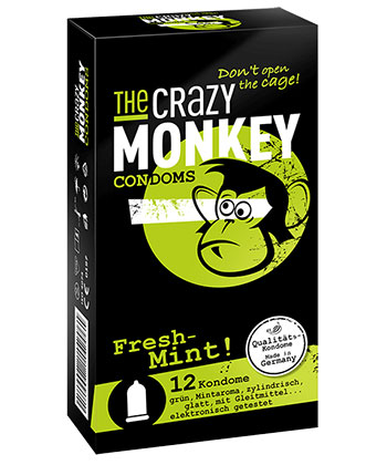 The Crazy Monkey Frische Minze