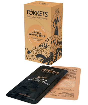 Toka Natural Lubricant Warming Effect