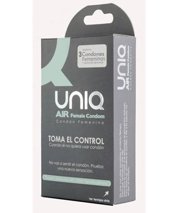 Uniq Air Female Condom